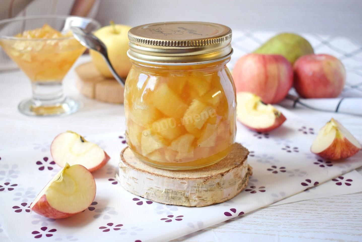 Груши с яблоками в сиропе