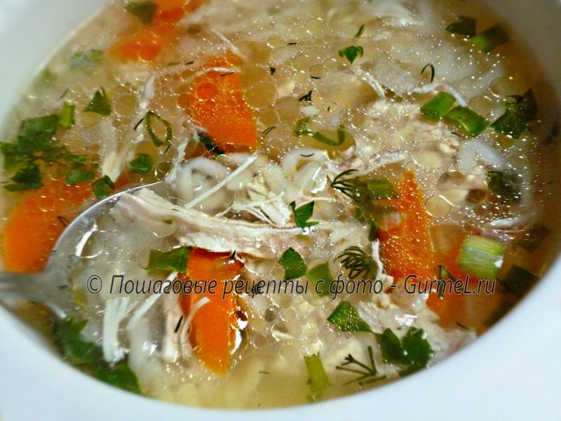 Суп целебный