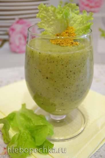 Напиток огуречно-салатный (шпинатный)