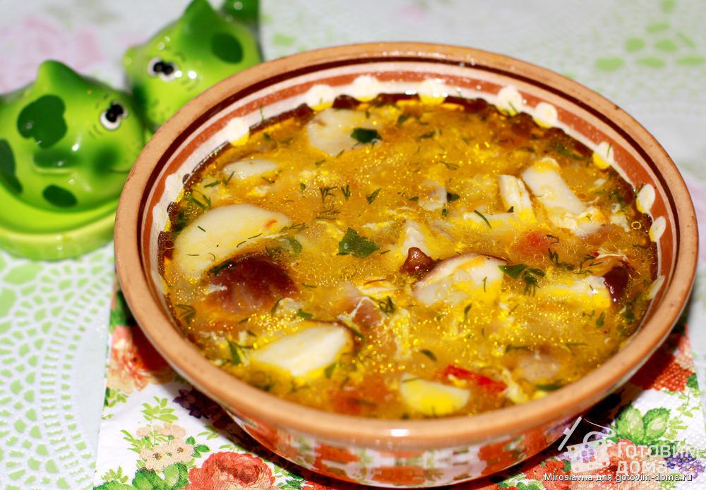 Суп яблочно-рисовый