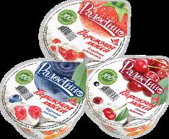 Творожная масса фруктово-ягодная