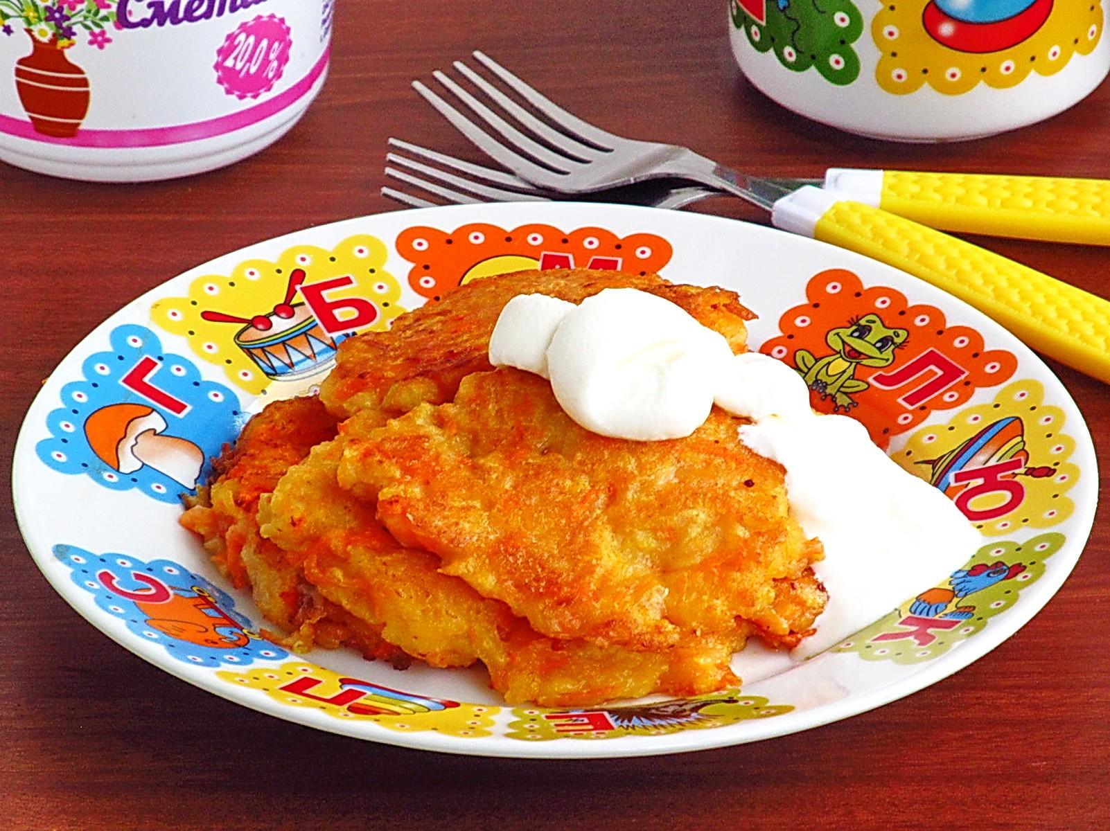Яблочно-морковное блюдо