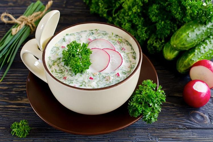 Холодные супы