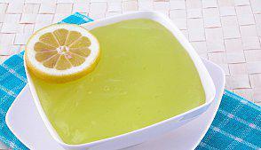Желе лимонное с ксилитом