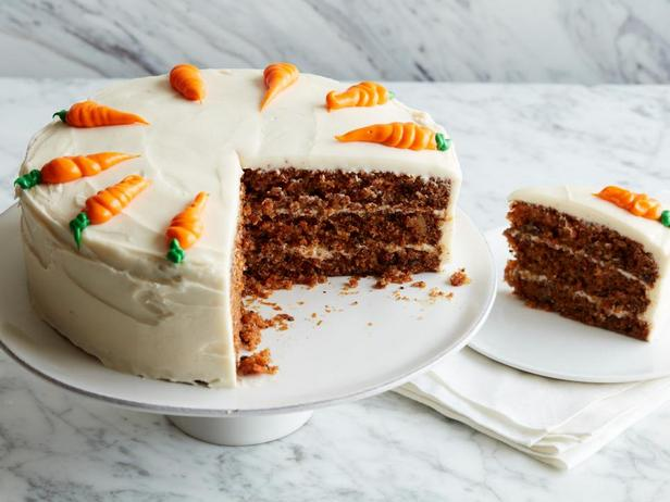 Морковный торт